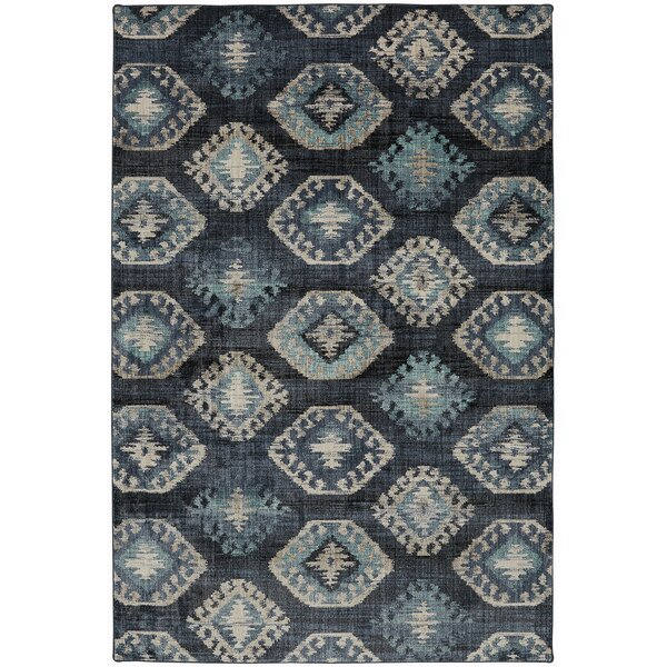 Metropolitan Blue/Beige Area Rug by Mohawk Home