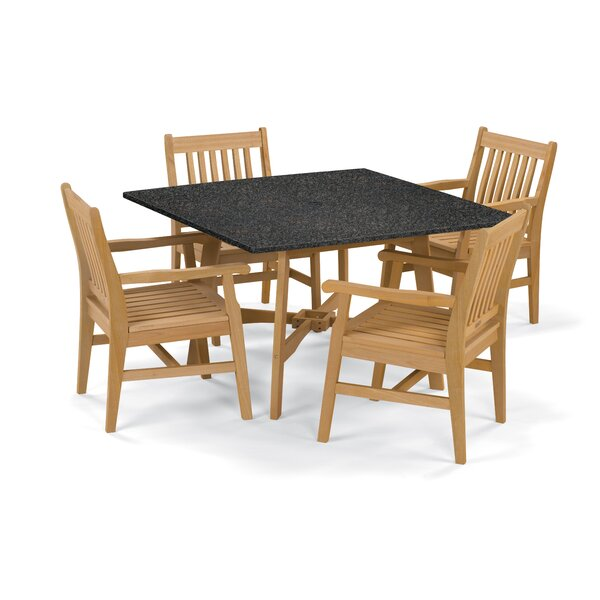 Myres 5 Piece Dining Set by Beachcrest Home