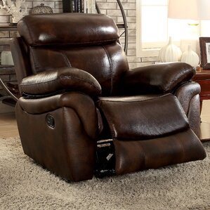 Champine Transitional Recliner by Andover Mills