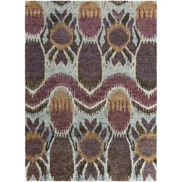 Elvera Eggplant Area Rug by Bungalow Rose