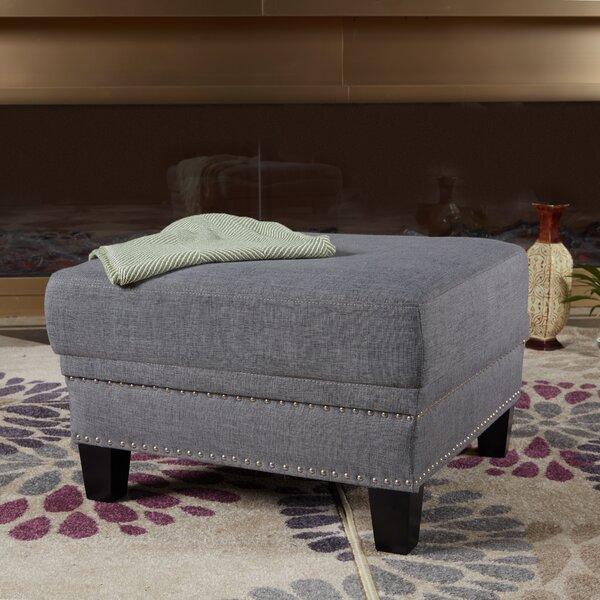 Linke Upholstered Ottoman by Charlton Home