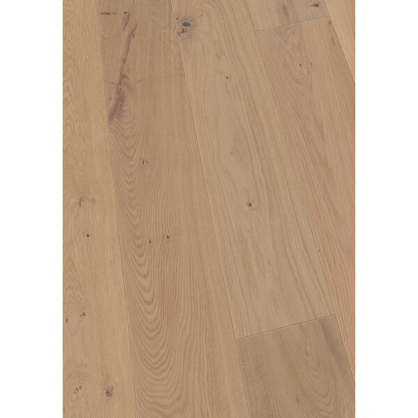 7.5 Engineered Oak Hardwood Flooring in Brushed Light Oak by Maritime Hardwood Floors