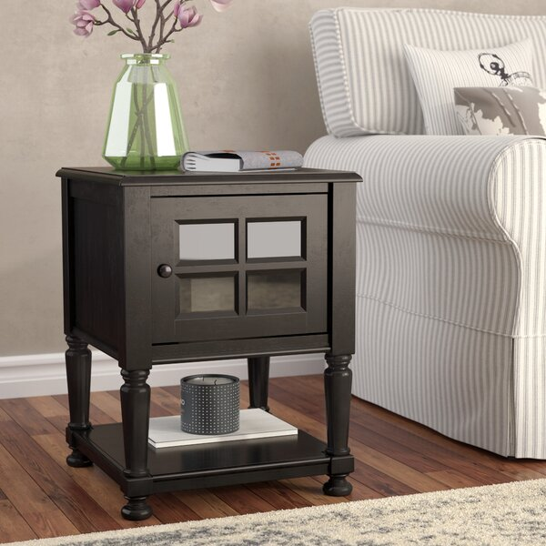 Letellier End Table with Storage by August Grove