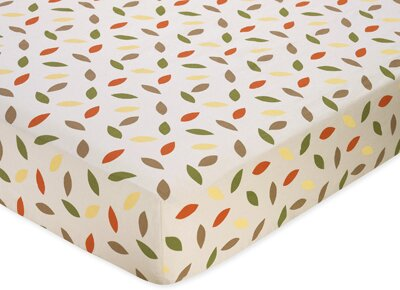 Forest Friends Fitted Crib Sheet by Sweet Jojo Designs