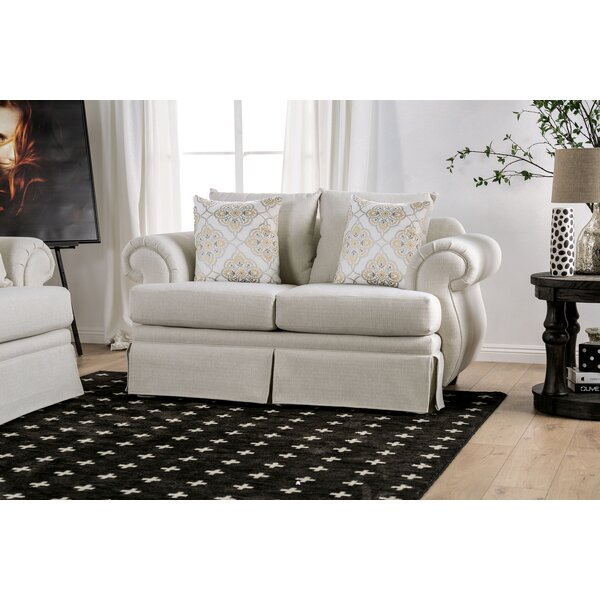 Internet Order Cheatwood T-Cushion Loveseat by Darby Home Co by Darby Home Co