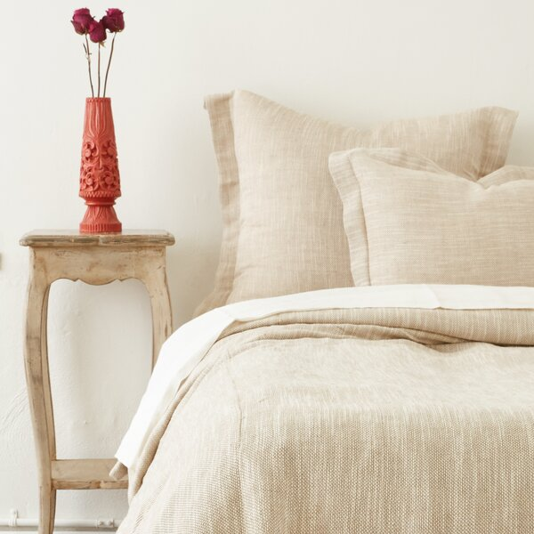 Jeremy Linen Blend Duvet Cover by Amity Home