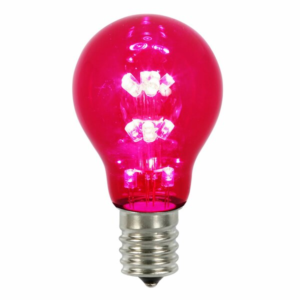 16W Red E26 LED Light Bulb by Vickerman