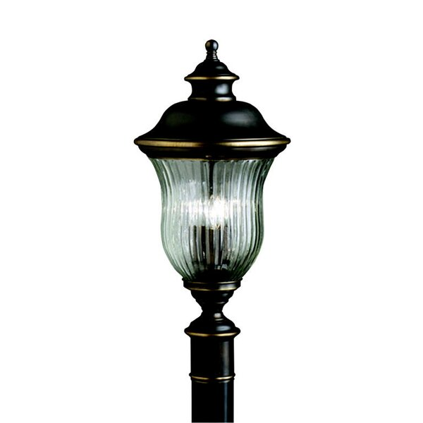 Barrowbrook Outdoor 3-Light Lantern Head by Astoria Grand