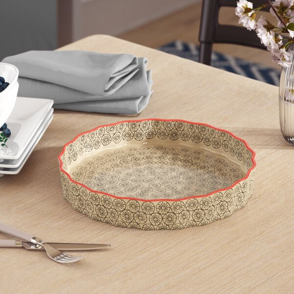 Dorazio Ceramic Serving Platter by Mercury Row