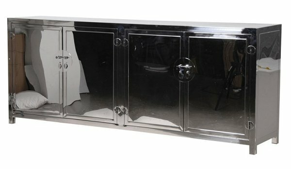 Dorene Stainless Steel Sideboard by Orren Ellis