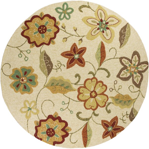 Winsford Ivory Serafina Indoor/Outdoor Area Rug by Alcott Hill