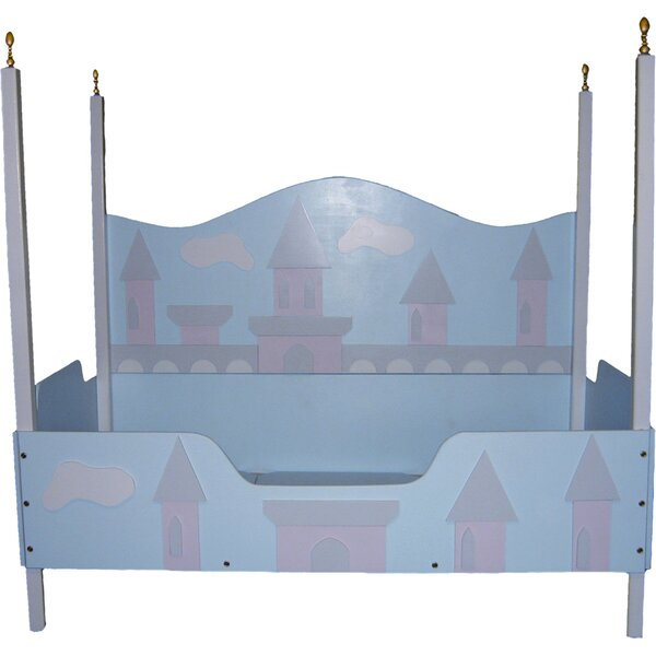 Princess Castle Toddler Canopy Bed by Just Kids Stuff