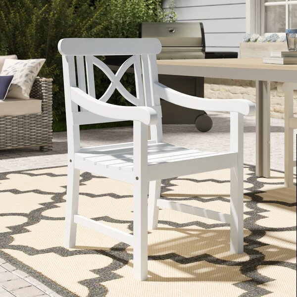 Aranmore Patio Dining Chair by Beachcrest Home Beachcrest Home