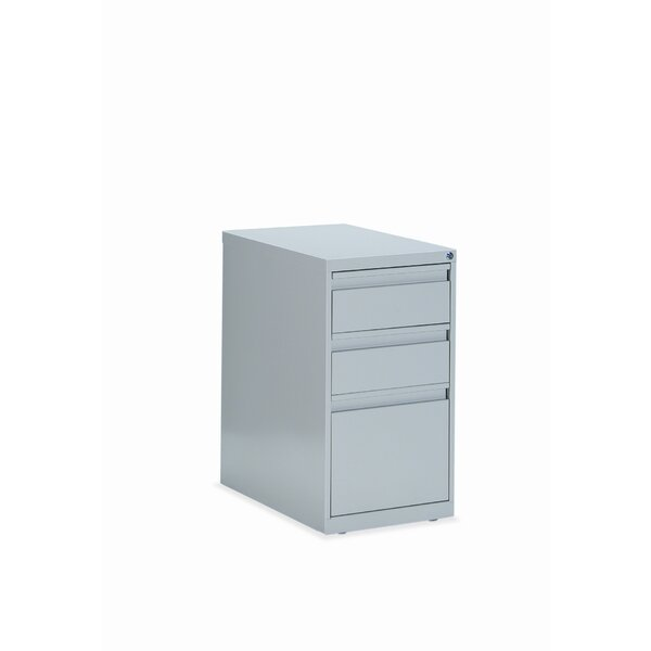 3-Drawer Box/File Pedestal by Global Total Office