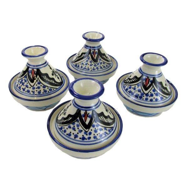 Tibarine Stoneware Tagine (Set of 4) by Le Souk Ceramique