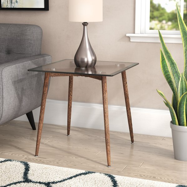 Demaio End Table by Wrought Studio