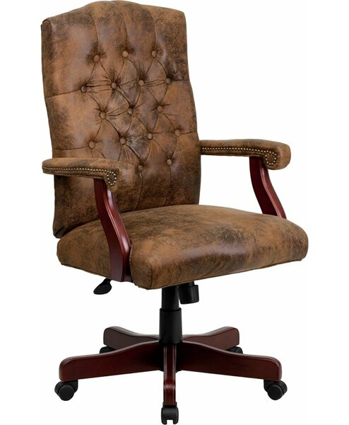 Hickox Classic Executive Chair by Darby Home Co