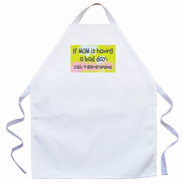 Call 1-800-Grandma Apron in Natural by Attitude Aprons by L.A. Imprints