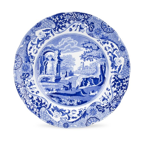 Blue Italian 9 Salad Plate (Set of 4) by Spode