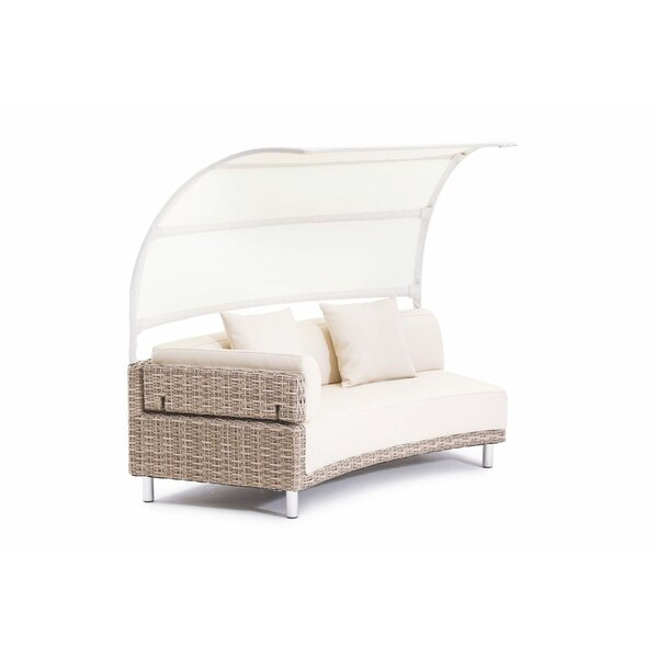Keyone Modular Left Facing Arm Patio Daybed with Cushion by Brayden Studio