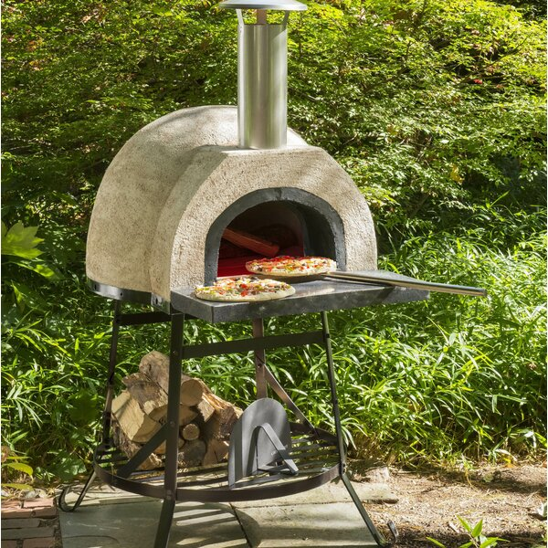 Rustic Wood Fired Oven - Plain Front by Rustic Natural Cedar Furniture