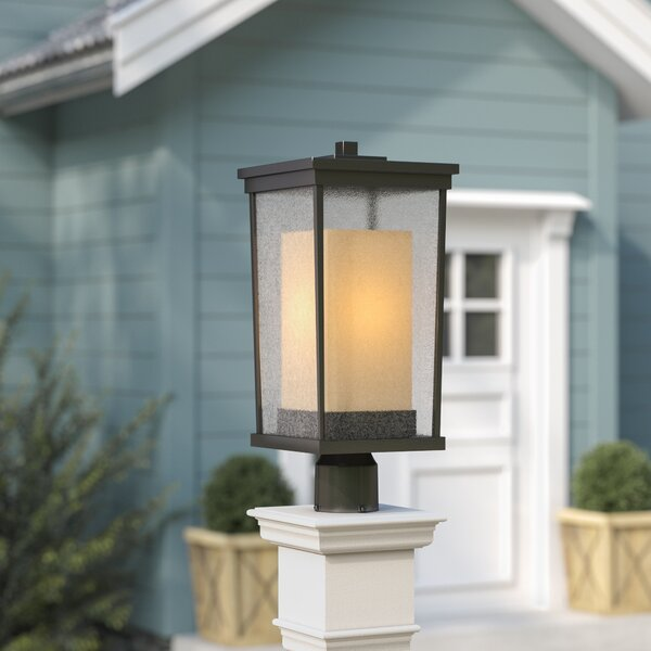 Oakhill 1-Light Oiled Bronze Lantern Head by Charlton Home