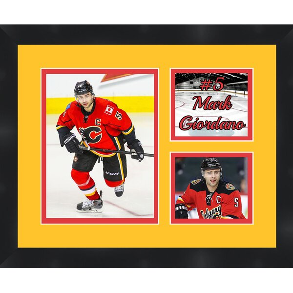 Mark Giordano 5 Calgary Flames Photo Collage Picture Frame by Frames By Mail