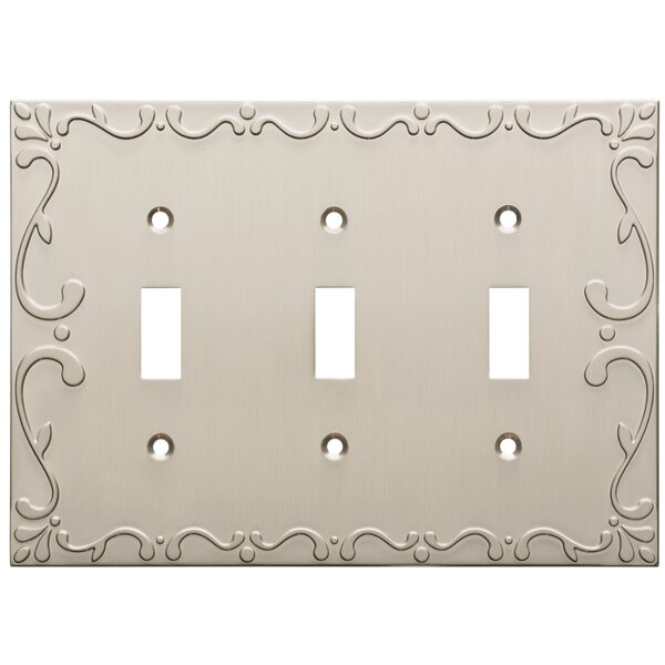 Classic Lace Triple Switch Wall Plate by Franklin Brass