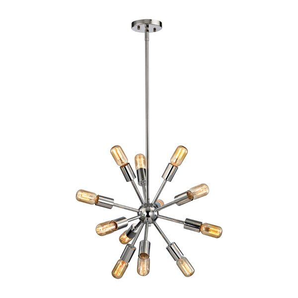 Kendall 12-Light Sputnik Chandelier by Langley Street