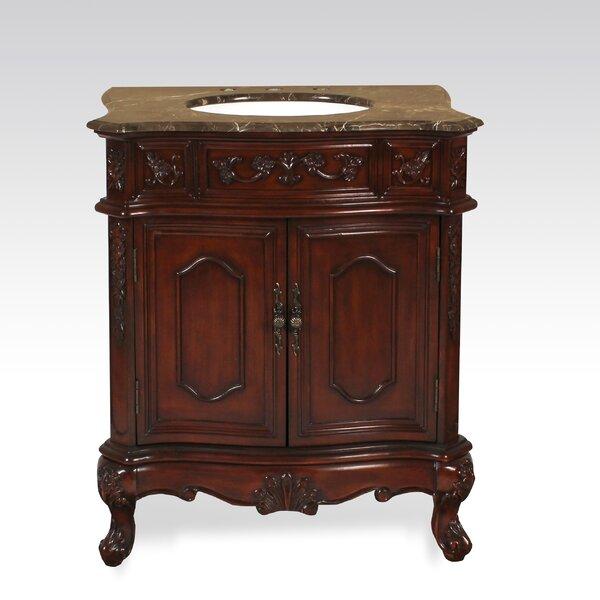 McKean 30 Marble Single Bathroom Vanity Set by Astoria Grand