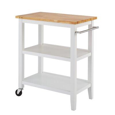 Andover Mills Raabe Kitchen Cart