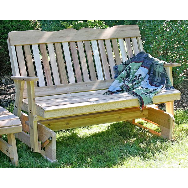 Tignall Countryside Glider Bench by Millwood Pines