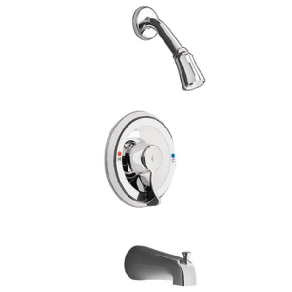 Commercial Posi-Temp Pressure Balance Tub and Shower Faucet Trim by Moen
