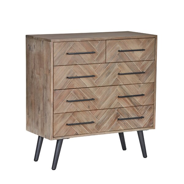 Lexy 5 Drawer Dresser by Modern Rustic Interiors