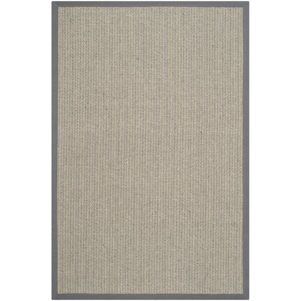 Richmond Hand-Woven Brown/Gray Rug by Beachcrest Home