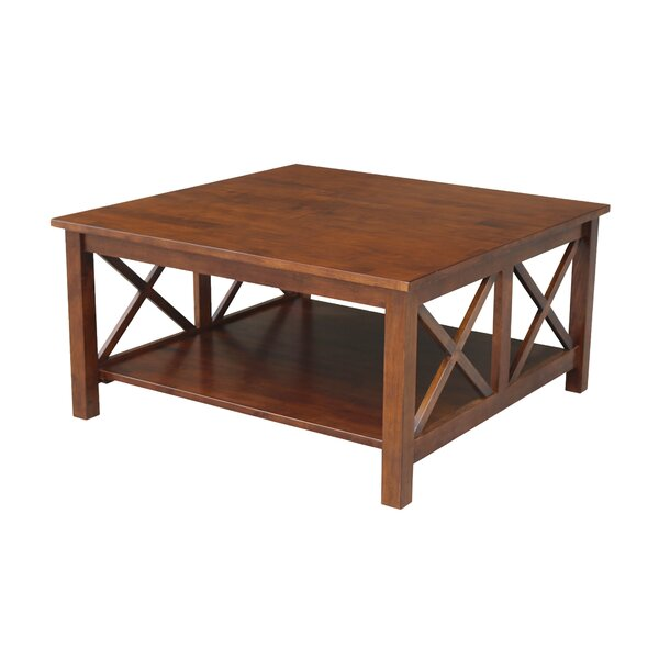 Solid Wood Coffee Table With Storage By Breakwater Bay