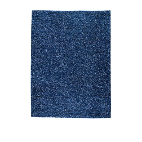 Goliath Mix Blue Contemporary Rug by Red Barrel Studio