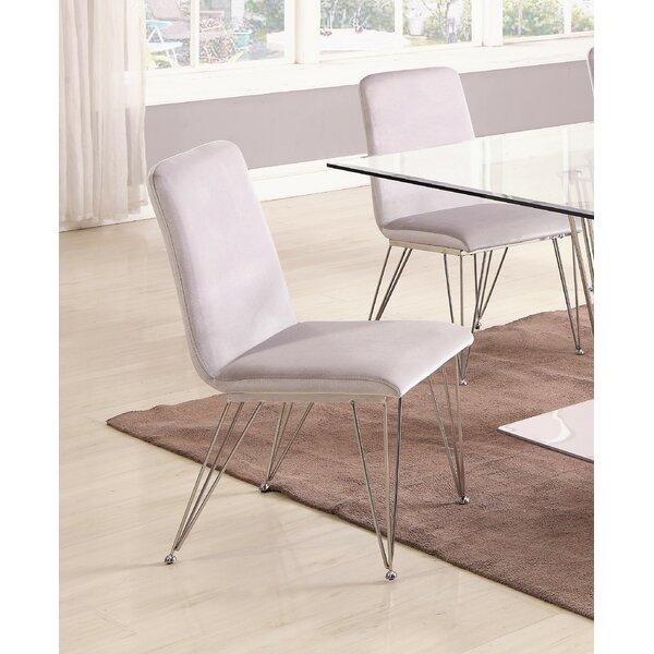 Noah Upholstered Dining Chair (Set of 2) by Orren Ellis Orren Ellis