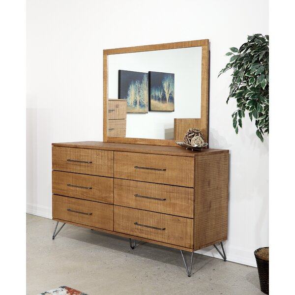 Austin 6 Drawer Double Dresser by Home Image