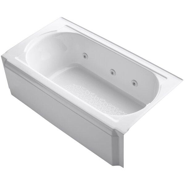 Memoirs Alcove 60 x 34 Whirpool Bathtub by Kohler