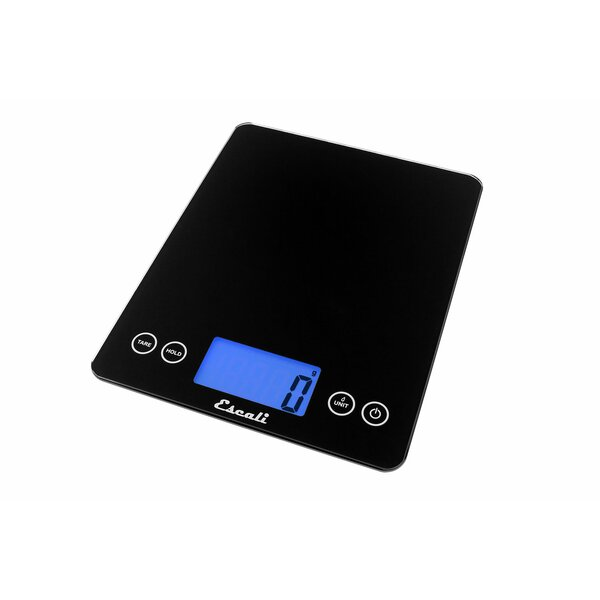 Arti Extra Large Glass Digital Kitchen Scale by Escali
