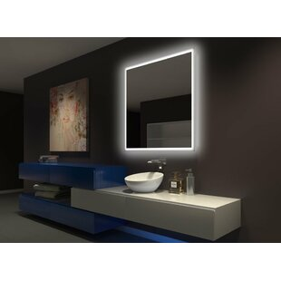 Best Choices Tempest Backlit Bathroom Mirror By Latitude Run