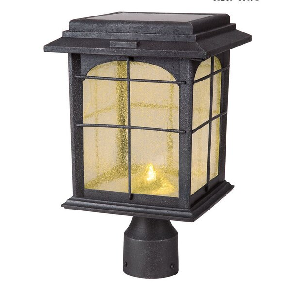 Heflin Solar 1-Light LED Lantern Head by Longshore Tides