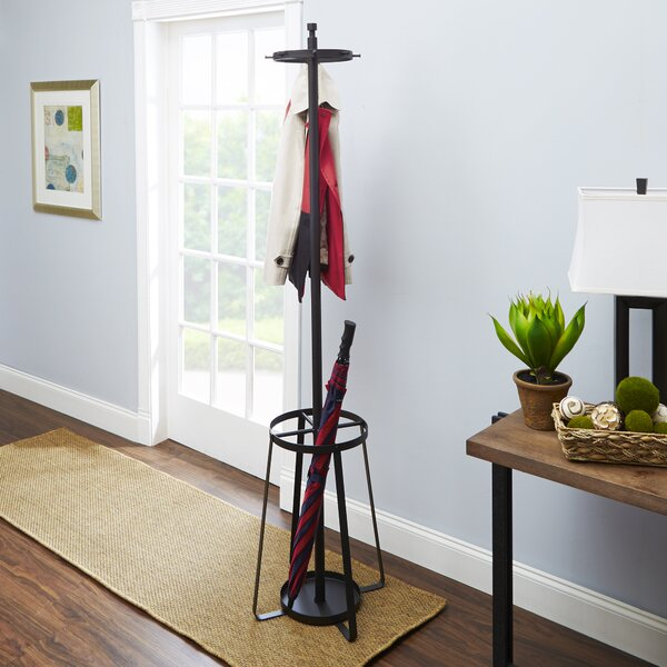 Georgiev Standing Coat Rack by Ebern Designs