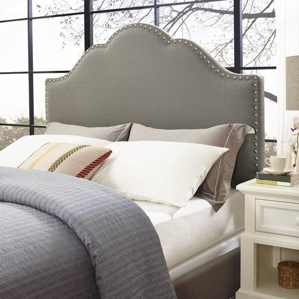 Benedict Camelback Upholstered Standard Bed by Alcott Hill