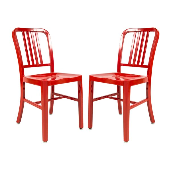 Hitchcock Indoor Outdoor Patio Dining Chair (Set of 2) by Williston Forge