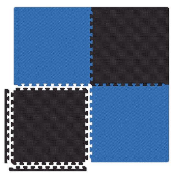 Economy SoftFloors Set in Royal Blue / Black by Alessco Inc.