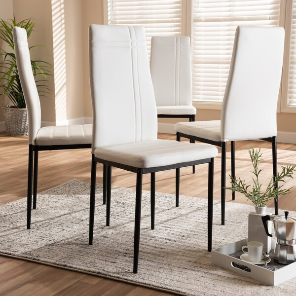Rezac Upholstered Dining Chair (Set of 4) by Orren Ellis
