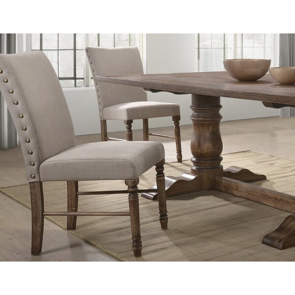 Aniya Upholstered Dining Chair (Set of 2) by Ophelia & Co. Ophelia & Co.