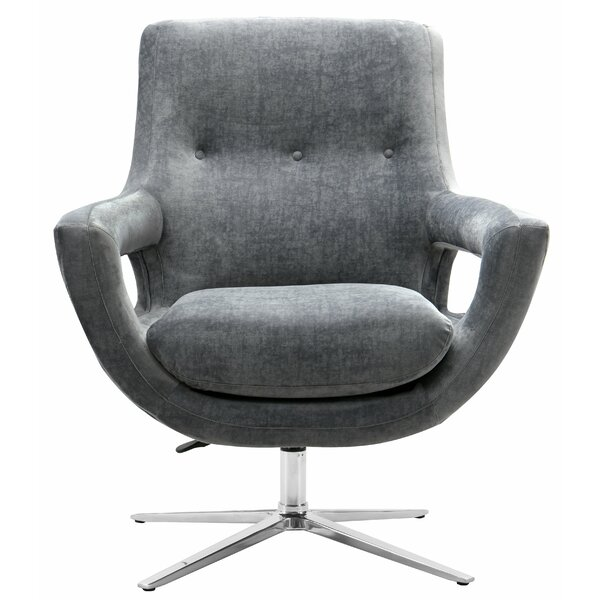 Earleville Swivel Armchair by George Oliver George Oliver